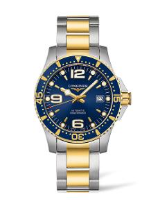 Longines  Longines HydroConquest Collection men's 41mm Automatic in stainless steel and yellow PVD  L37423967