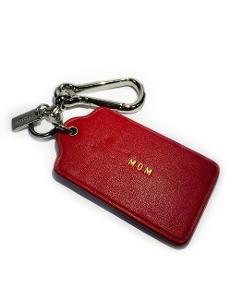 CoachCoach Personalized Keychain1406114
