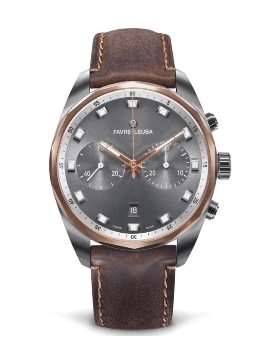 Favre Leuba  Men's Sky Chief Date Chronograph  00.10202.05.31.44