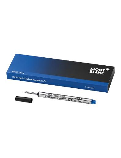 Montblanc Pacific Blue - 1 Rollerball Capless System Refill (M) 113778