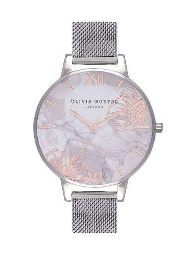 Olivia Burton Women's Abstract Floral Watch OB16VM20