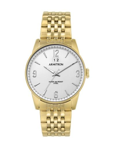 Armitron Men's Gold Tone 205231WTGP
