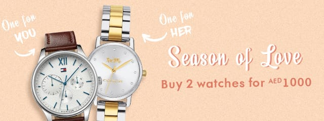 Buy 2 Watches for AED1000