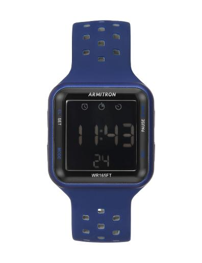 Armitron Men's Digital 408417BLU