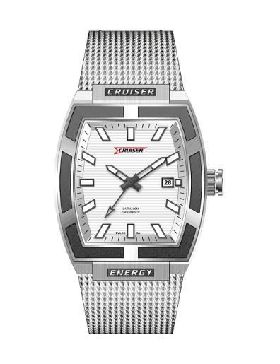 Cruiser Men's Metal Date C7231-GSW