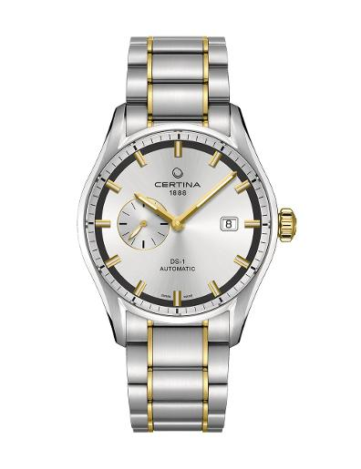 Certina Men's DS 1 Silver Dial Two-tone Stainless steel Watch C006.428.22.031.00