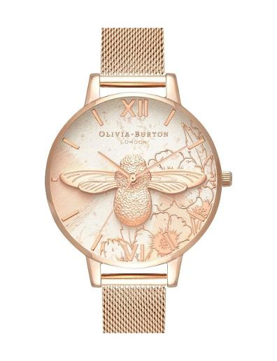 Olivia Burton Women's Abstract Floral watch OB16VM26