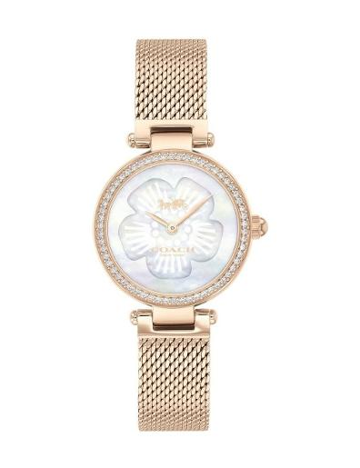 Coach Women's Park Silver Dial R Stainless Steel Watch. 14503511