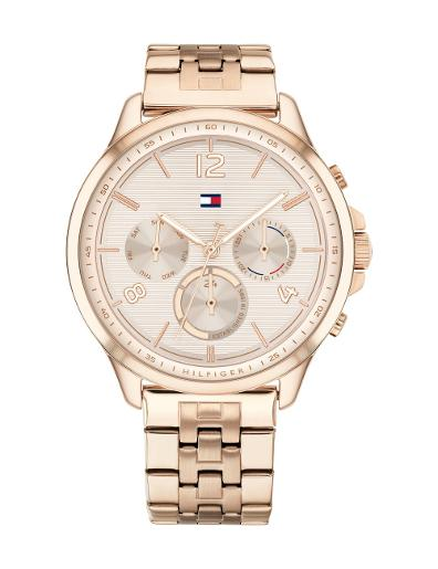 Tommy Hilfiger Women's Harper Rose Gold Dial Rose Gold Stainless Steel Watch. 1782224