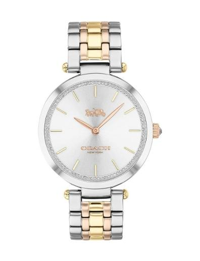 Coach Women's Park Silver Dial Two Tone Stainless Steel Watch. 14503508