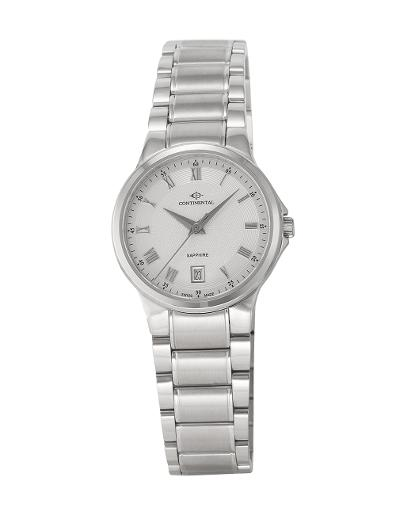 Continental Women's Classic White Dial Steel Metal Watch. 14201-LD101710