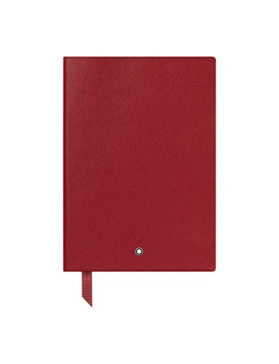 Montblanc Red  Lined  Fine Stationery Notebook 146 116521