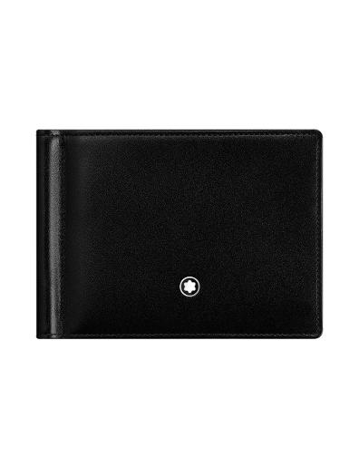 Montblanc Meisterstuck Wallet 6cc with Money Clip 5525