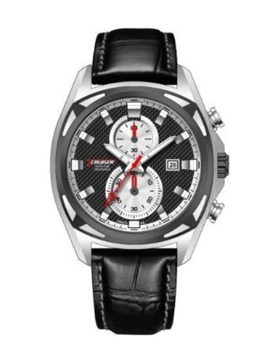 Cruiser Men's Silicon Strap Multifunction C7213-GZBWC