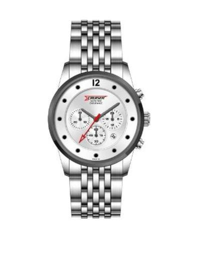 Cruiser Men's Metal Chronograph C7207-GSSSC
