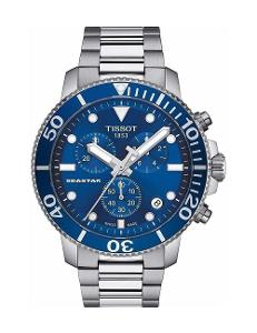 Tissot  Men's Sport BLUE Dial Grey Stainless steel Watch.  T120.417.11.041.00