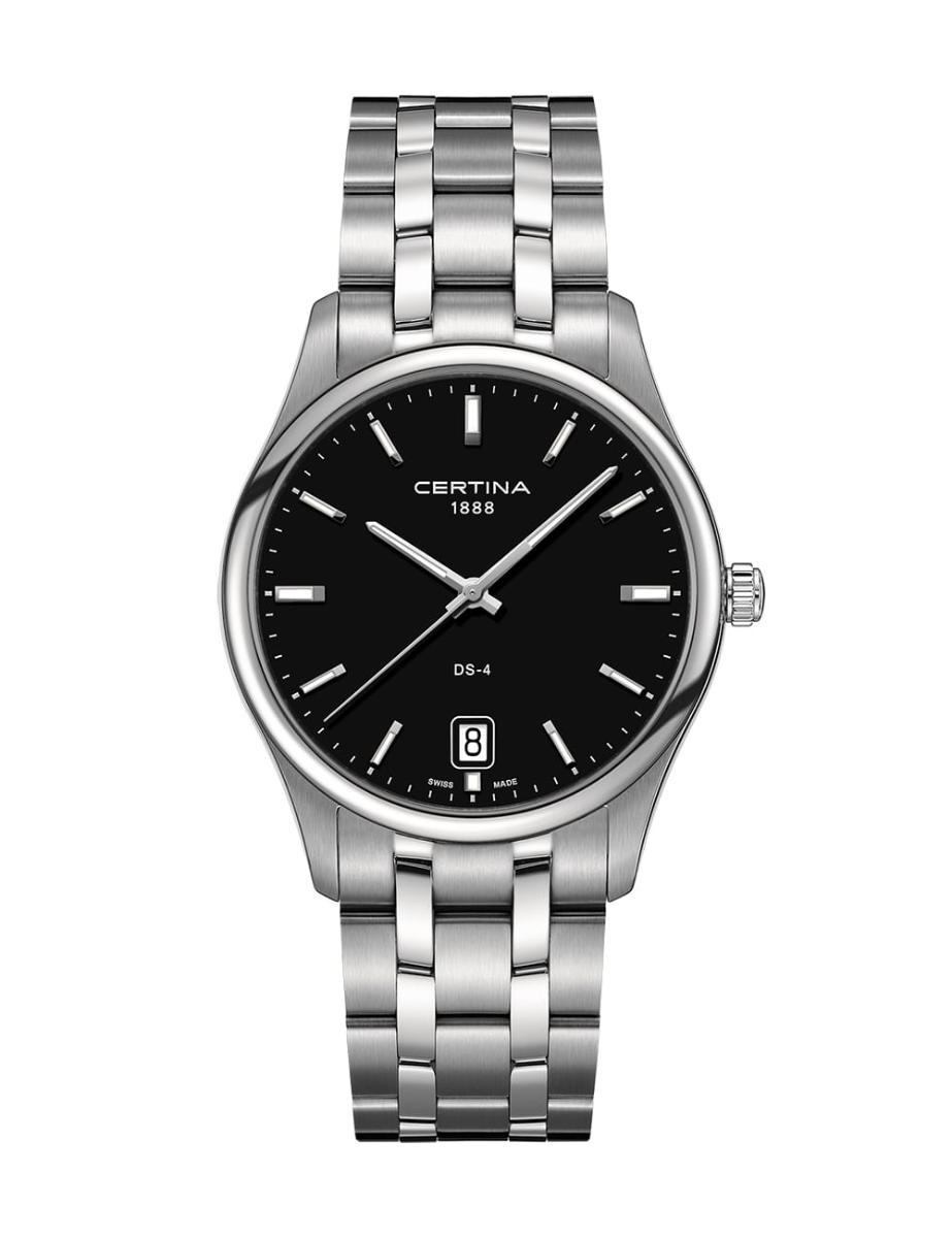 Certina  Men's Ds-4 Black Dial Stainless steel Stainless steel Watch  C022.610.11.051.00