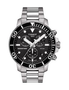 Tissot  Men's Sport BLACK Dial Grey Stainless steel Watch.  T120.417.11.051.00