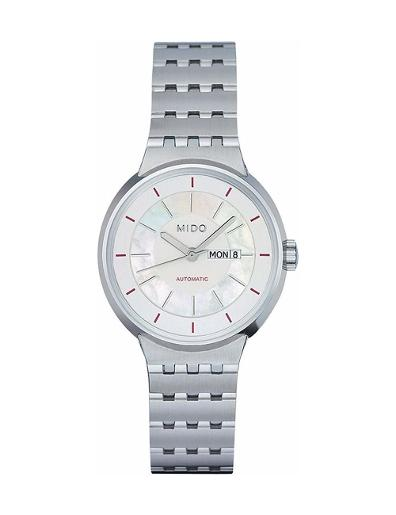 Mido Women's All Dial WHITE MOTHER OF PEARL Dial Stainless steel Stainless steel Watch. M7330.4.19.12