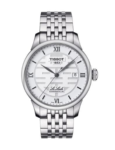 Tissot  Men Classic Stainless steel Round Silver Dial Mechanical Watch  T006.407.11.033.01