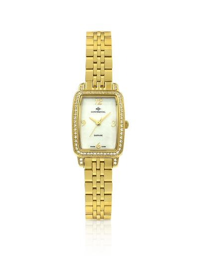 Continental Women's Classic Mother of Pearl Dial Yellow Gold Metal Watch 20351-LT202521