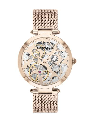 Coach Women's PARK ROSE GOLD Dial Rose Gold Stainless Steel Watch. 14503595