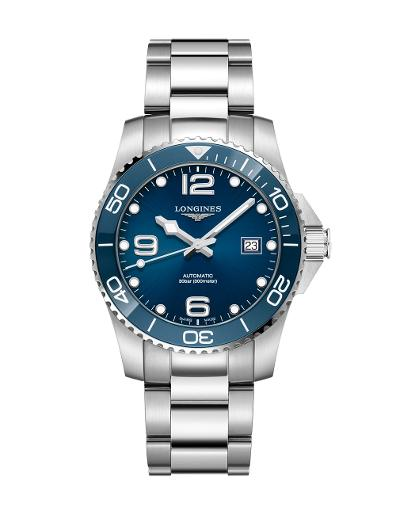 LONGINES Longines HydroConquest Collection men's 41mm in stainless steel L37814966
