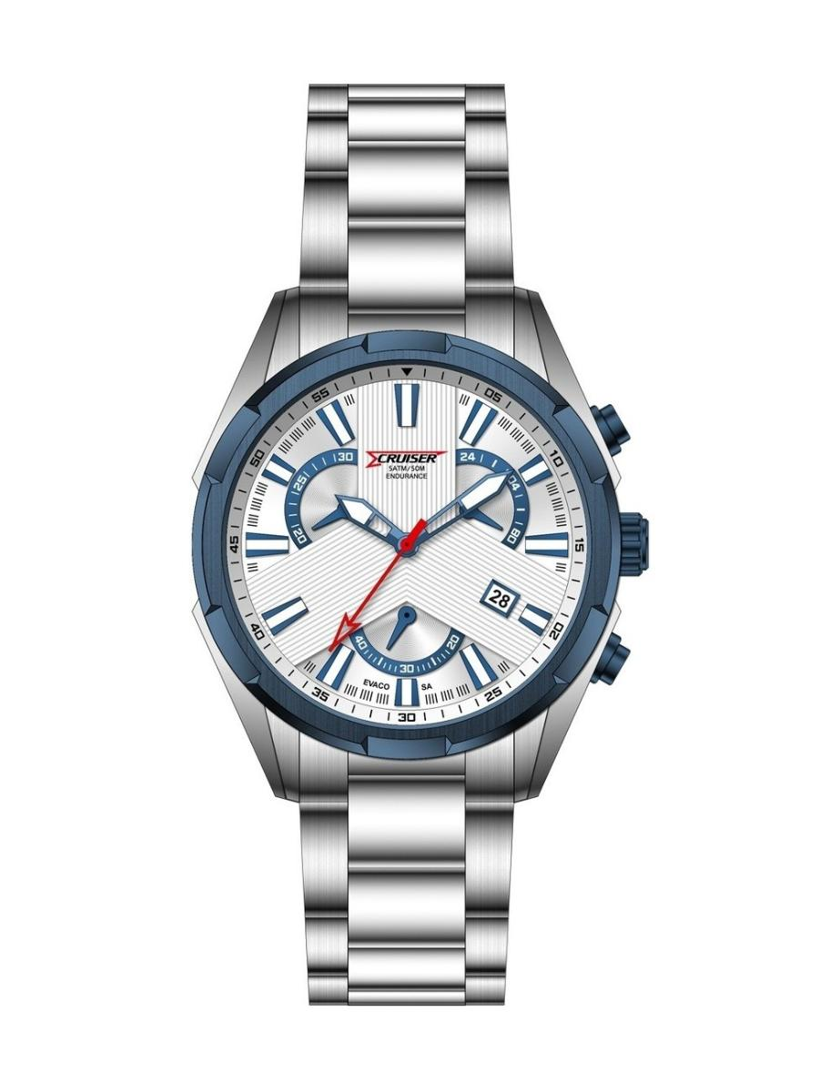 Cruiser  Men's Metal Chronograph  C7251-GDWWC