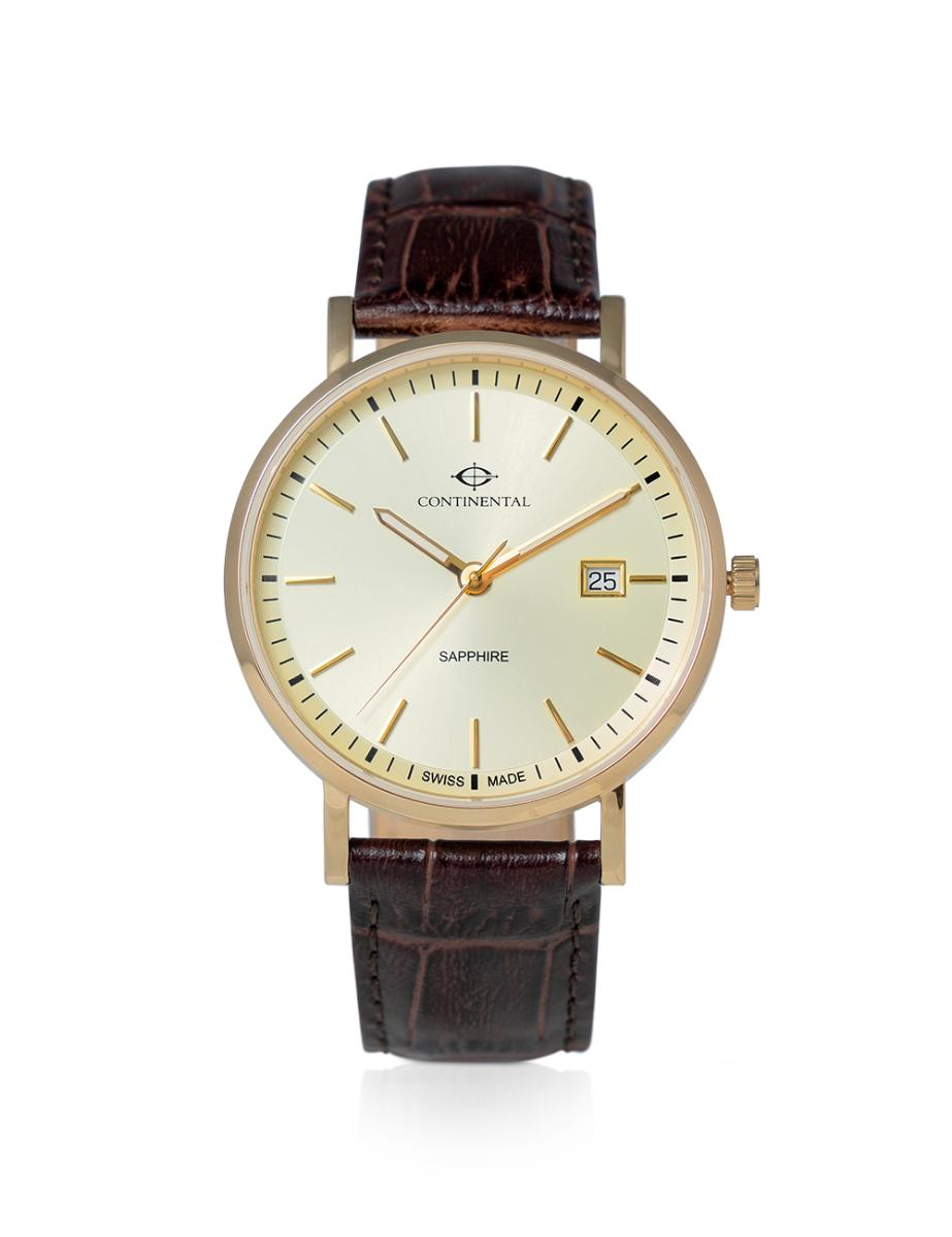 Continental  Men's Classic Beige Dial Brown Leather Watch.  19101-GD256330