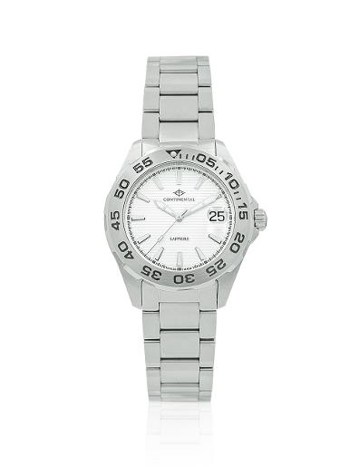 Continental Men's Classic Silver Dial Steel Metal Watch 20501-GD101130
