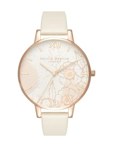 Olivia Burton Women's Abstract Floral watch OB16VM25