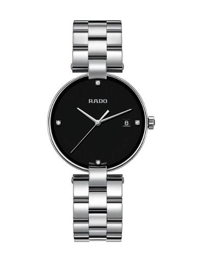 Rado Women's Coupole Quartz Diamonds R22852703