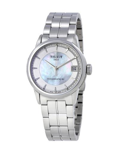 Tissot  Women's Classic White Dial Silver Stainless steel Watch.  T086.207.11.111.00