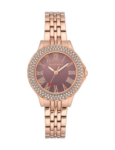 Juicy Couture Women's Crystal Metals JC1020BNRG