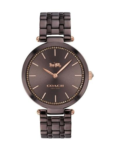 Coach Women's Park Brown Dial Brown Stainless Steel Watch. 14503507