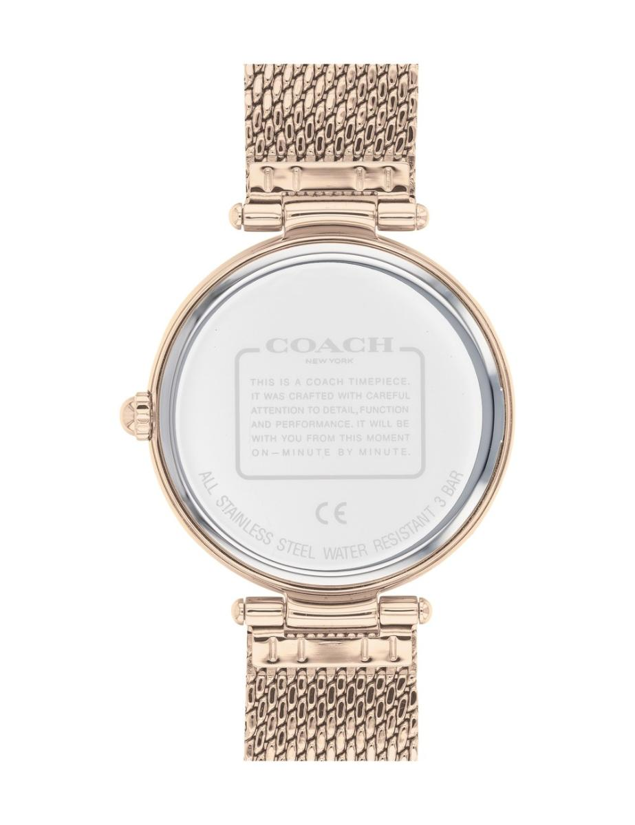 Coach  Women's Park Brown Dial Rose Gold Stainless Steel Watch.  14503566