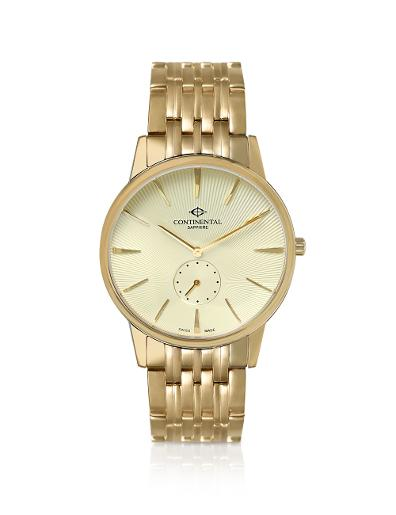 Continental Men's Classic Ivory Dial Yellow Gold Metal Watch. 17201-GT202230