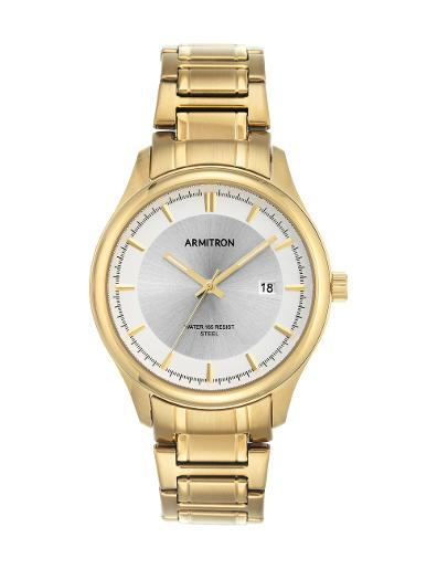 Armitron Men's Gold Tone 205230SVGP