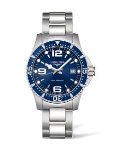 Longines  Longines HydroConquest Collection men's 41mm Quartz in stainless steel  L37404966