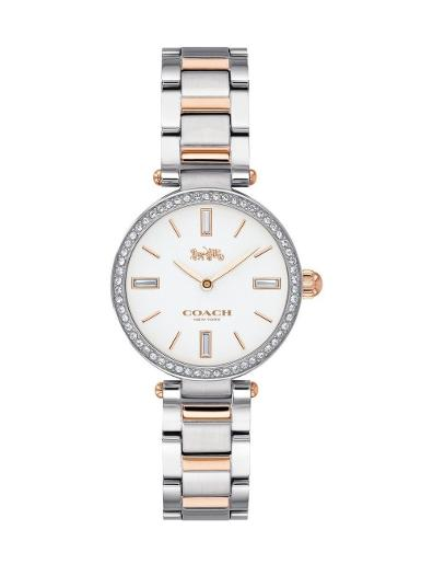 Coach Women's Park White Dial Two Tone Stainless Steel Watch. 14503101