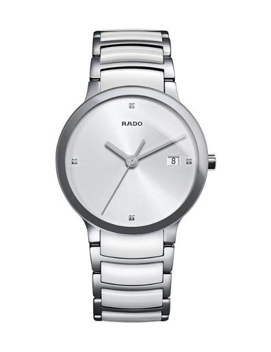 Rado Unisex's Centrix Quartz  Diamonds R30927722