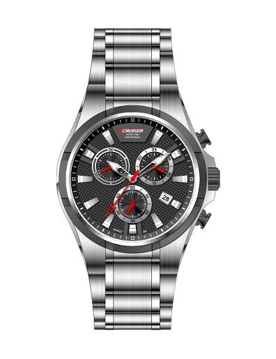 Cruiser Men's Metal Chronograph C7252-GBBBC