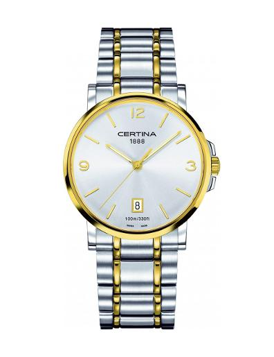 Certina Men's DS Caimano Silver Dial Stainless steel Stainless steel Watch C017.410.22.037.00