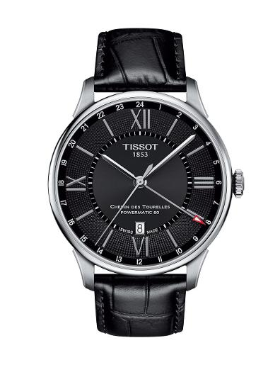 Tissot  Men Classic Stainless steel Round Black Dial Mechanical Watch  T099.429.16.058.00