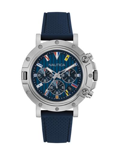 Nautica Men's Nst 800 Chrono Flags NAD17530G