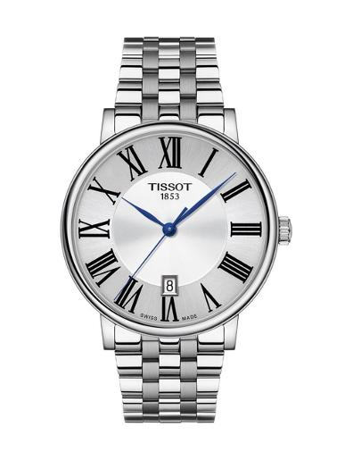 Tissot  Men's Classic SILVER Dial Grey Stainless steel Watch.  T122.410.11.033.00