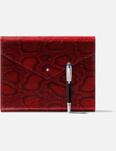 Montblanc Montblanc Augmented Paper Python Printed Red V4.2 123667