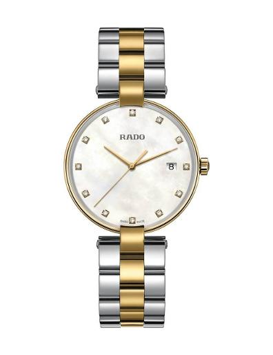 Rado Women's Coupole  Quartz Diamonds R22856924