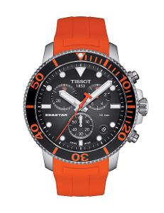 Tissot  Men Sport Stainless steel Round Black Dial Quartz Watch  T120.417.17.051.01