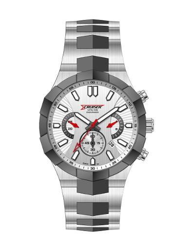 Cruiser Men's Metal Chronograph C2140-GBWWC